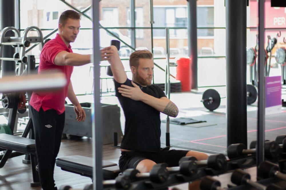 Trainen Met Coach Profit Gym Sportschool